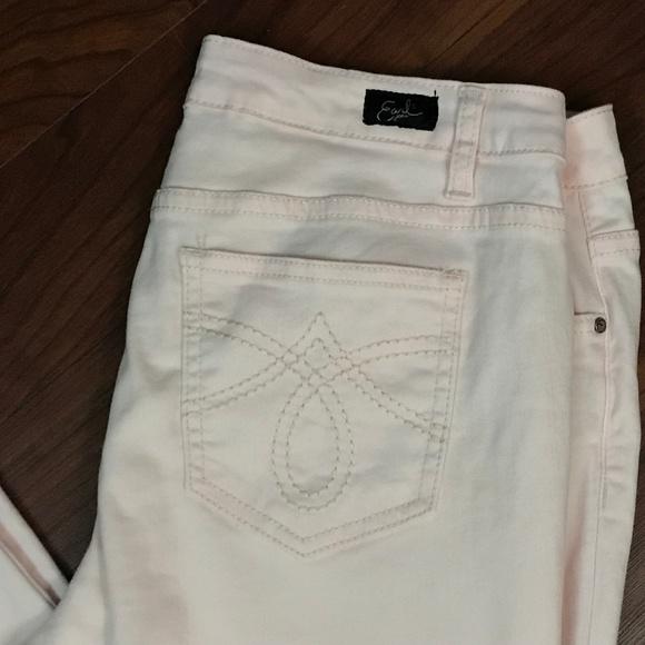 b9aeca69334 Earl Jeans Denim - Earl Jean Women s Size 14 Light Pink Straight Leg